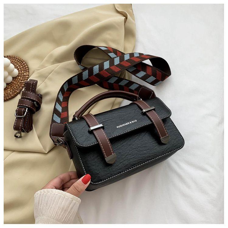 wide strap messenger bag  NHLH273496