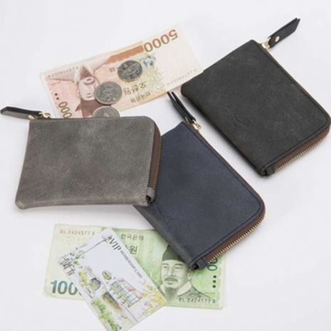 PU leather zipper coin purse small wallet multi-function coin bag earphone bag NHBN273573's discount tags
