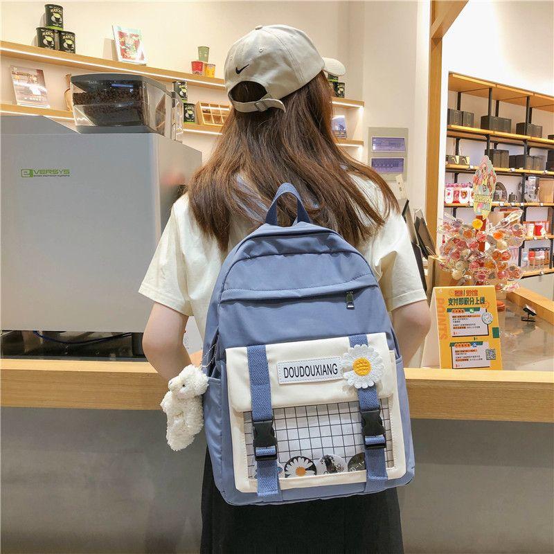 Korean fashion schoolbag NHLH273586