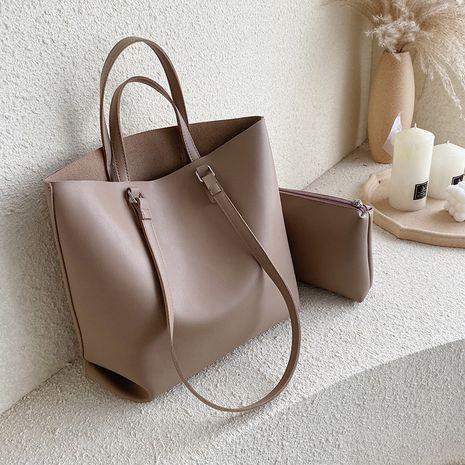women's Korean messenger large capacity fashion portable tote bag NHLH273625's discount tags