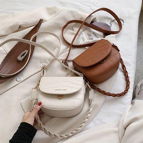 fashion messenger single shoulder saddle handbags  NHLH273657's discount tags