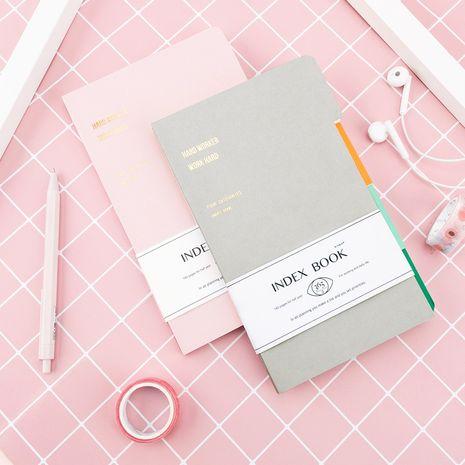 A5 notepad student classroom notebook random colors NHNU273816's discount tags