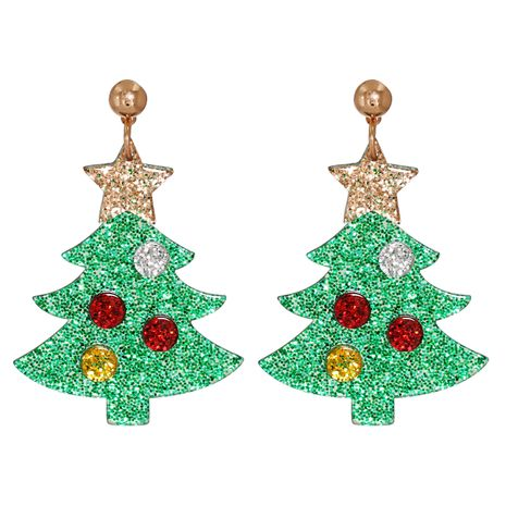 Weihnachtsbaum Hut Schneemann Elch Acryl Ohrringe NHJJ273702's discount tags