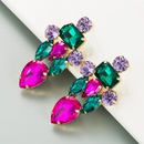 boucles d39oreilles en alliage de diamant color  la mode NHLN273724