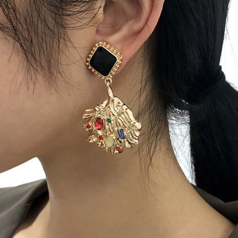 fashion baroque  diamond earrings wholesale NHMD273736's discount tags