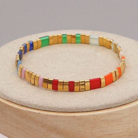 fashion retro ethnic style golden beaded bracelet  NHGW273762's discount tags