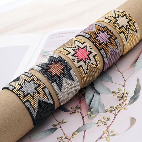 beaded bohemian retro geometric bracelet NHGW273769's discount tags