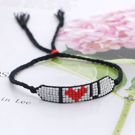 LOVE Letter Beaded Bracelet  NHGW273777's discount tags