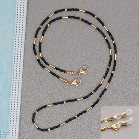 colorful rice bead necklace NHGW273782's discount tags