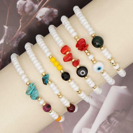 Bracelet de style ethnique bohème en pierre naturelle rétro simple NHGW273786's discount tags