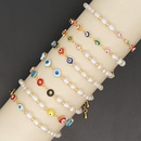 perles d39oeil de couleur de style ethnique rtro bracelet de perles d39eau douce naturelles baroques simples NHGW273793