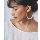 Korean pearl woven earrings  NHCT273875