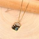 nouveau collier pendentif diamant gomtrique simple il NHPY273946