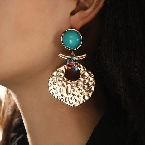 retro creative irregular metal earrings  NHNZ273967's discount tags