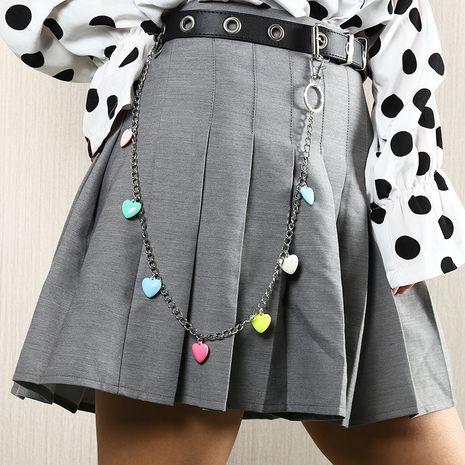 creative resin love small mushroom multilayer waist chain  NHNZ273968's discount tags