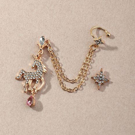 boucles d'oreilles licorne en diamant NHNZ274012's discount tags