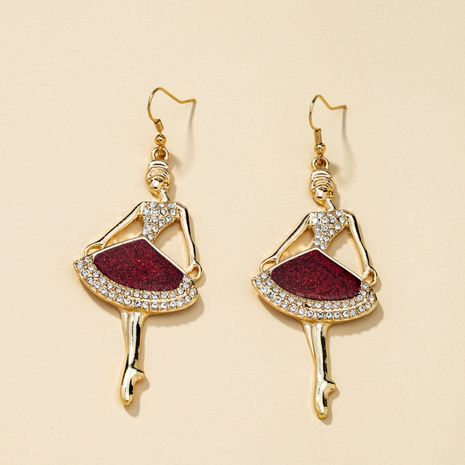 boucles d'oreilles longues en diamant NHQJ274044's discount tags