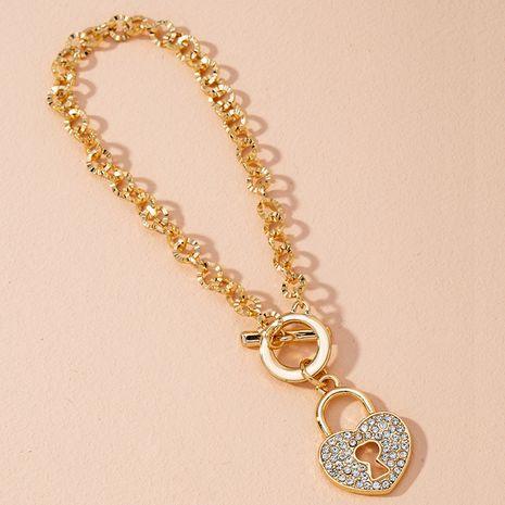 New korean Fashion  Heart Lock Bracelet  NHAI274096's discount tags