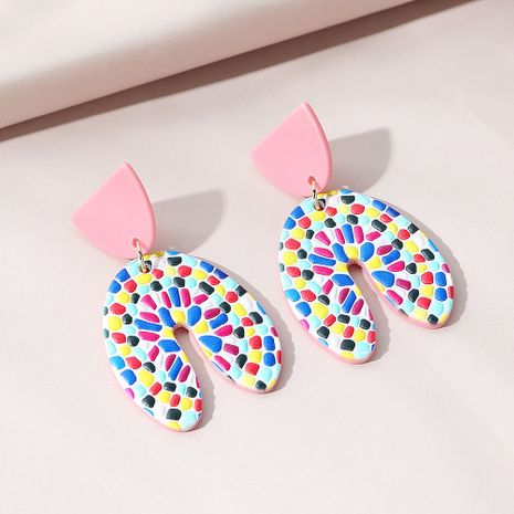 Korean style small fresh wild sweet fashion earrings NHPS274144's discount tags