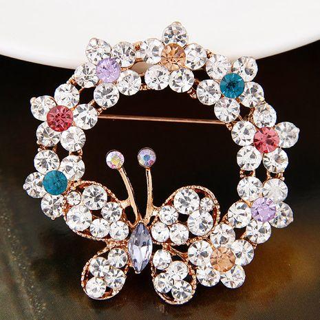 Broche papillon en diamant flash doux de mode coréenne NHSC274483's discount tags