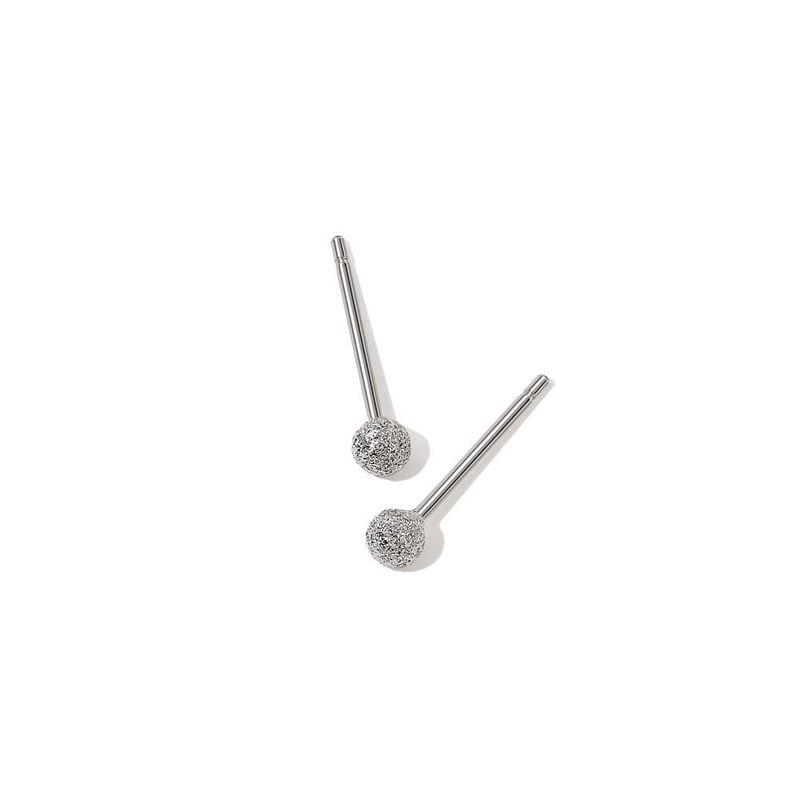simple sterling silver earrings  NHKL274157