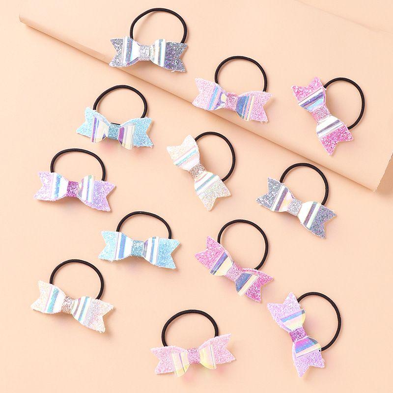Korean childrens butterfly hair knot hair tie hair rope set NHNU274214