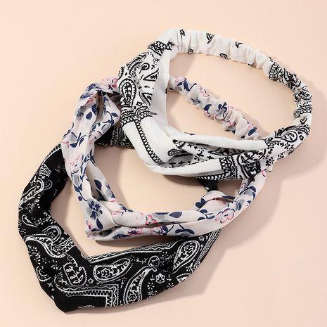 bandeau croisé d'impression d'art de tissu de nouveau style ethnique NHAU274229's discount tags