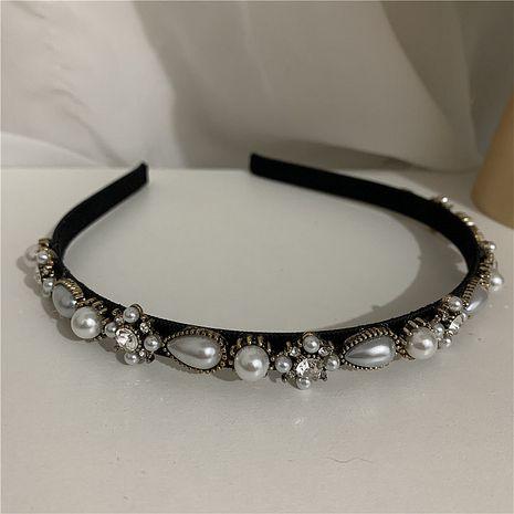Bande de cheveux coréenne en strass perle douce NHYQ274233's discount tags