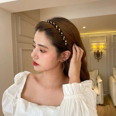 fashion simple  twist headband NHYQ274235's discount tags