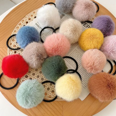 Korea new cute candy color dime hair rope  NHCQ274273's discount tags