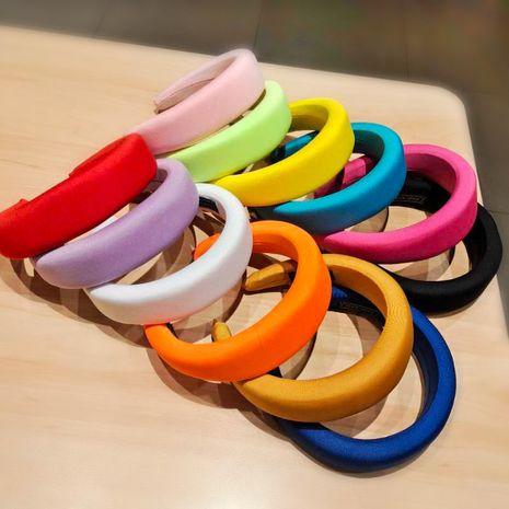 candy-colored sponge flat headband  NHUX274336's discount tags