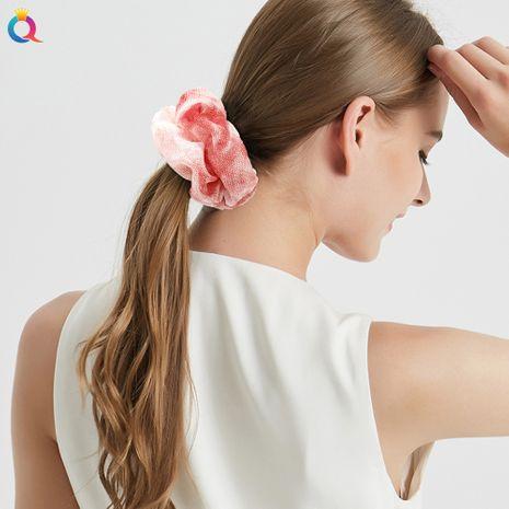 moda nuevos scrunchies de pelo de gasa degradado NHDM274352's discount tags