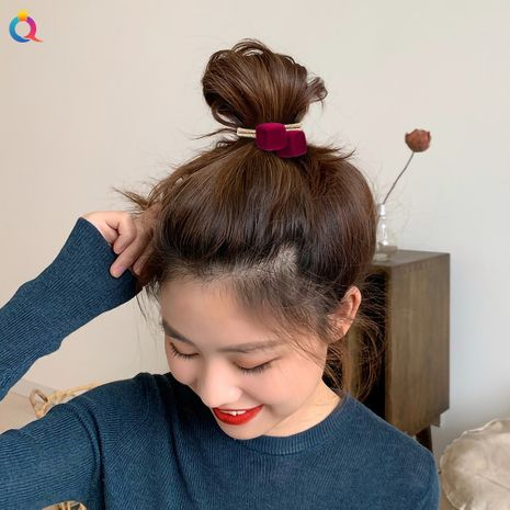 red velvet star geometric hair rope NHDM274374's discount tags