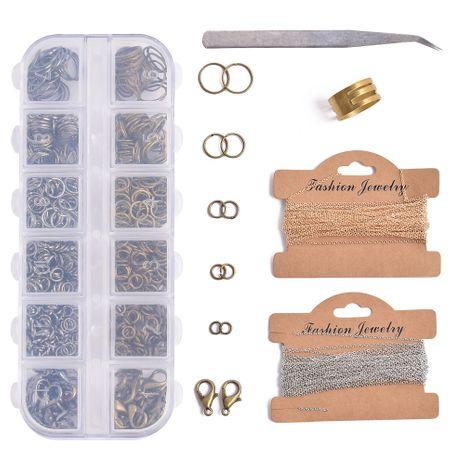 offener legierungsring 12 gitter set box schmuckzubehör NHSD274605's discount tags