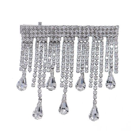 épingle à cheveux pompon sauvage en diamant NHHS274633's discount tags