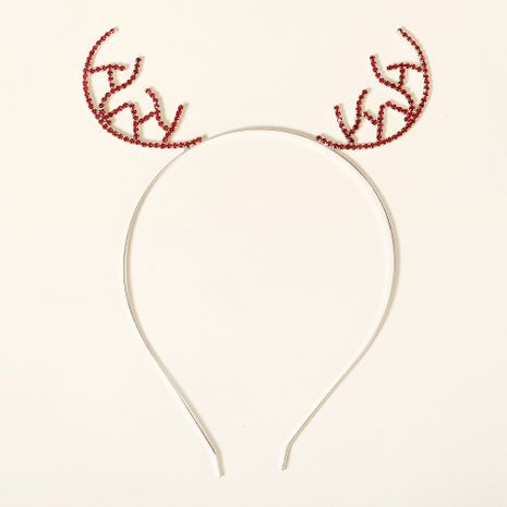 Christmas antlers rhinestone headband NHHS274640's discount tags