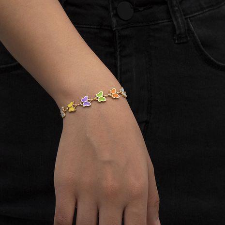 bracelet papillon acrylique simple à la mode NHXR274747's discount tags