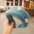 NHUX1213012-Blue-Hairy-Pearl-Flat-Headband