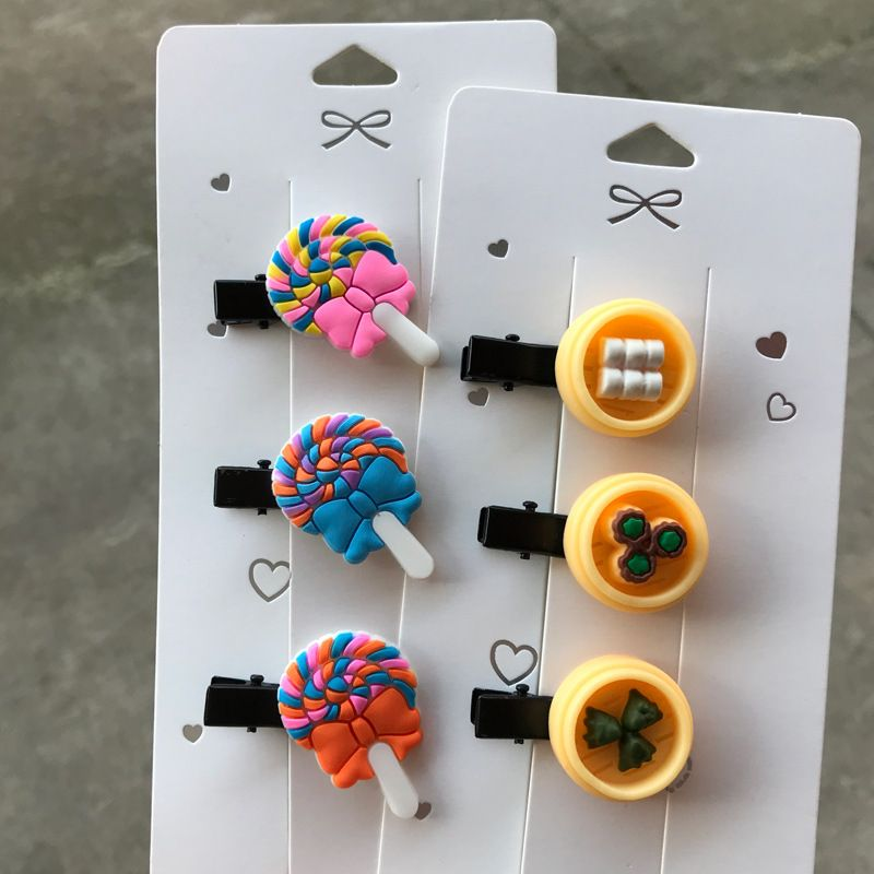 new   pastry food cute hair bb clip  NHDI274188