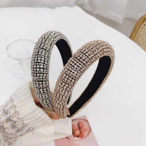 diadema barroca de diamantes de imitación de ala ancha NHSM274199's discount tags