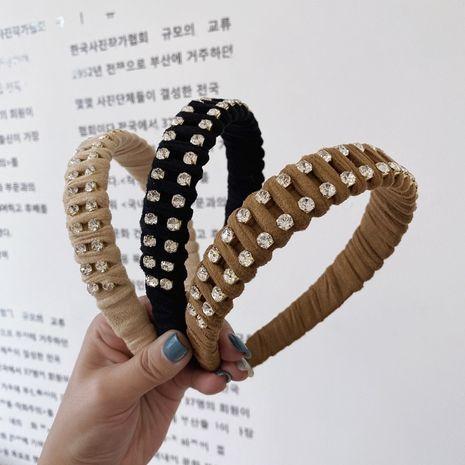 Bandeau large coréen en strass diamant NHSM274211's discount tags
