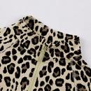 leopard print 2 twopiece  fashion childrens zipper jacket suit NHLF275089