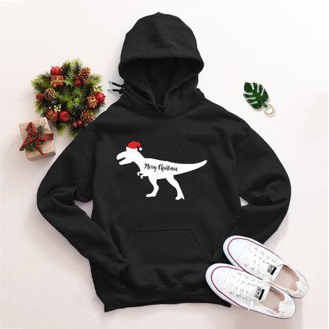 Pull ample à capuche de Noël grande taille NHSN275153's discount tags