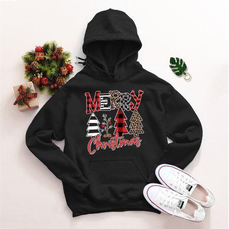 Pull ample à capuche de Noël grande taille NHSN275159's discount tags