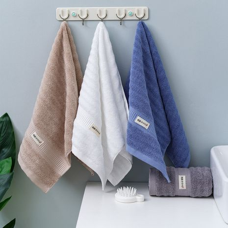 Hochwertiges, glattes Handtuch aus reiner Baumwolle NHNU275357's discount tags
