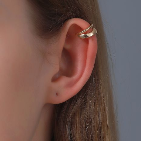 new double layer retro ear clip  NHDP275427's discount tags