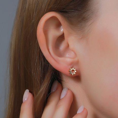 fashion simple  sun earrings  NHDP275433's discount tags