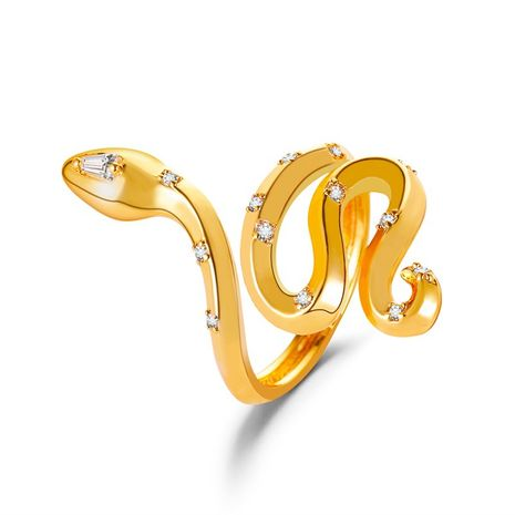retro snake ring  NHDP275443's discount tags