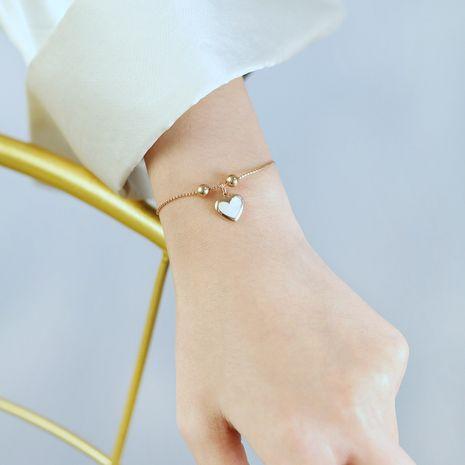 Bracelet coréen en acier titane simple NHOP275549's discount tags