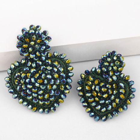 boucles d'oreilles créatives coeur pêche perle de riz NHAS275592's discount tags